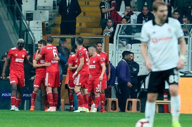 Beşiktaş: 1 - Sivasspor: 2   MAÇ SONUCU