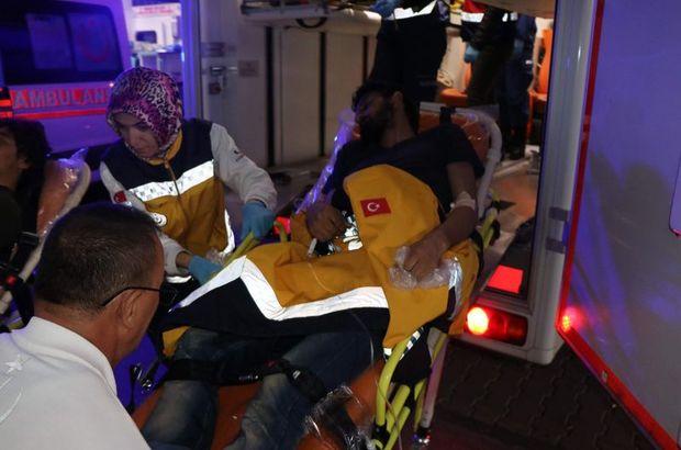 116 göçmen zehirlenme şüphesiyle hastaneye kaldırıldı