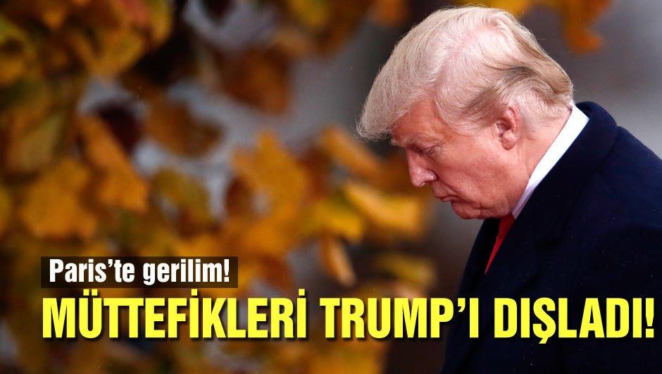 Dünya Trump'ı dışladı!