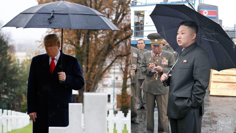 Trump'a 'yağmur' göndermesi ABD'yi karıştırdı!