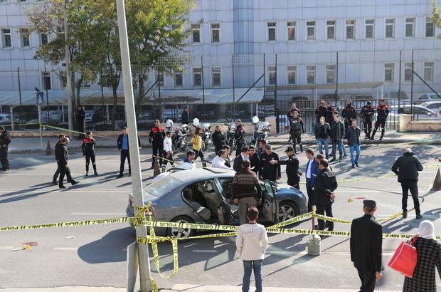 Diyarbakır'da adliye çıkışında silahlı saldırı