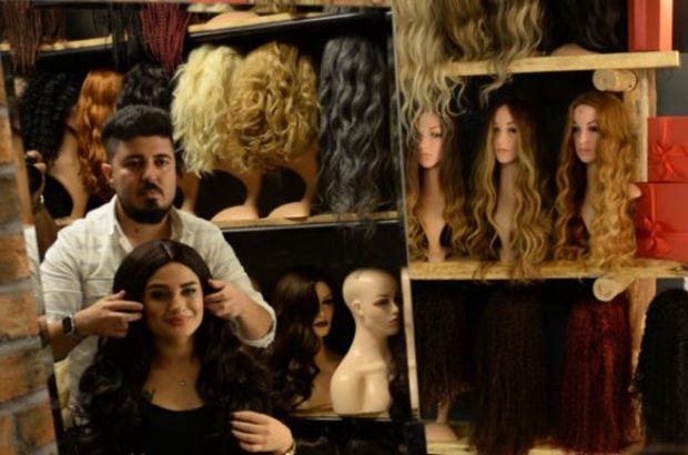 Kanser hastası kadınlara peruk hediye ettiler