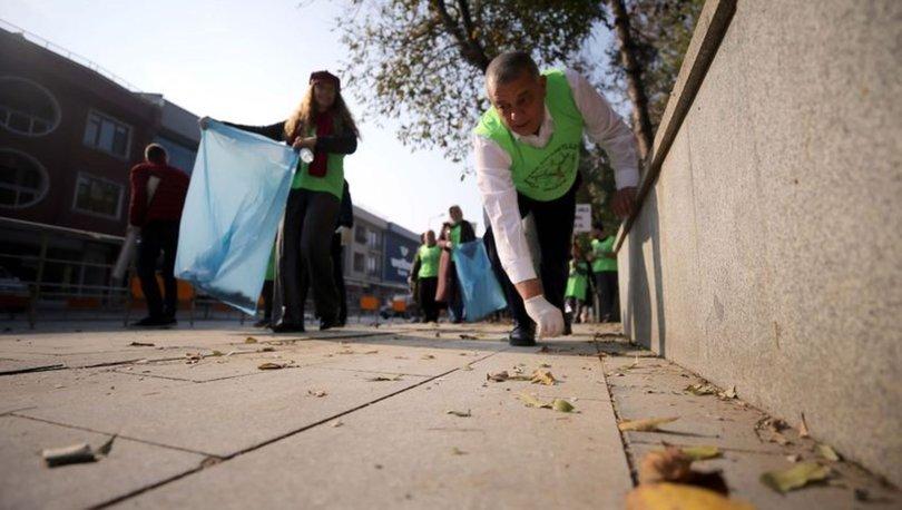Diyabete dikkati çekmek için çöp topladılar