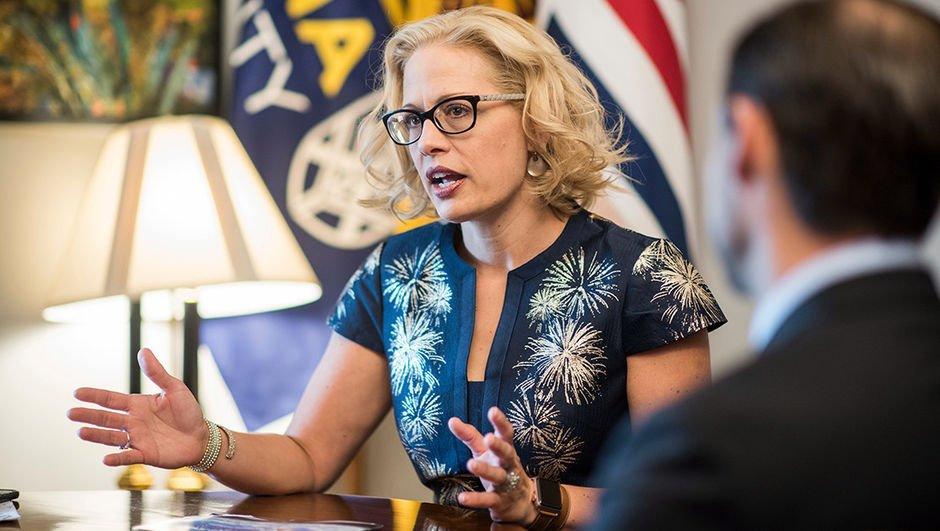 Arizona'nın ilk kadın senatörü oldu