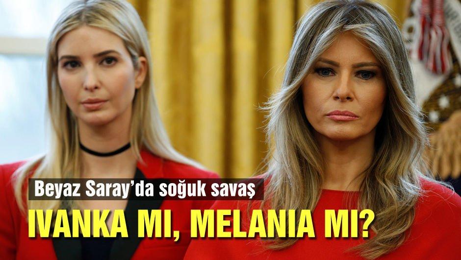 Beyaz Saray'ın kadınları arasında soğuk rüzgarlar...