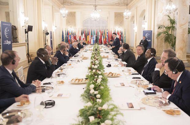 Türkiye, Libya konulu konferansı terk etti!