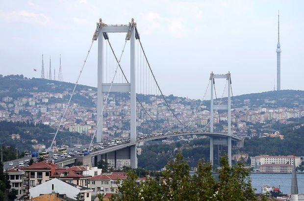 15 Temmuz Şehitler Köprüsü'nde zincirleme kaza