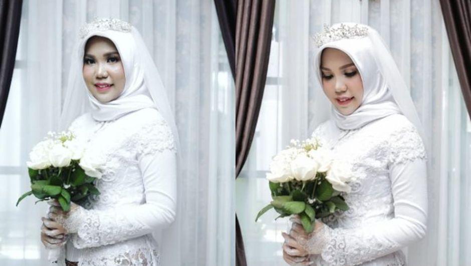 Nişanlısı uçakta hayatını kaybetti, tek başına düğün fotoğrafı çektirdi!