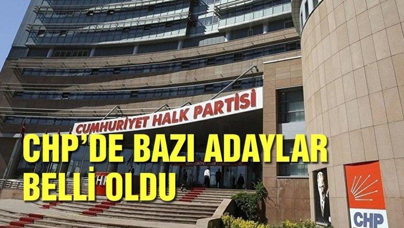 CHPde bazı belediye başkan adayları belli oldu