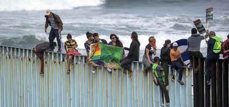 ABD sınırına ulaştılar!