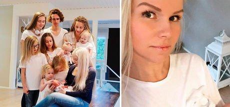 10 çocuk annesi Fin kadın fiziğiyle görenleri şaşırttı