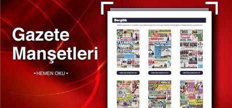 Günün gazete manşetleri (15 Kasım 2018)