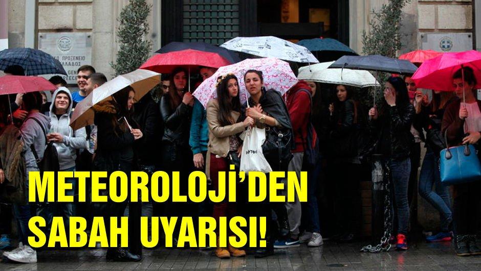 İstanbul için uyarı