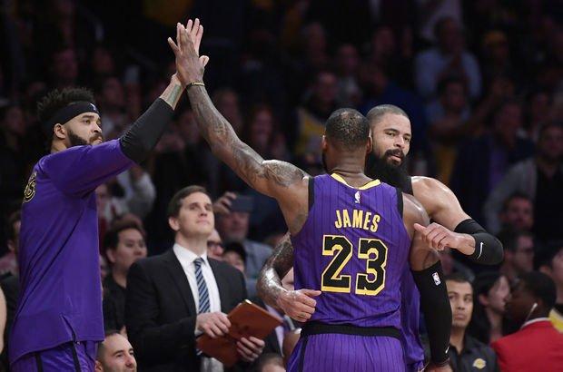 LeBron 44 attı, Lakers kazandı!