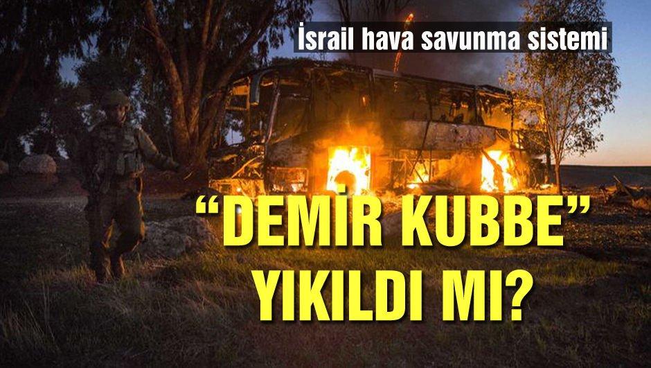 """İsrail'in hava savunma sistemi""""Demir kubbe"""" yıkıldı mı?"""