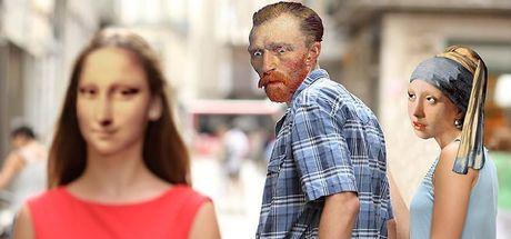 Klasik tabloları daha önce böyle görmediniz!
