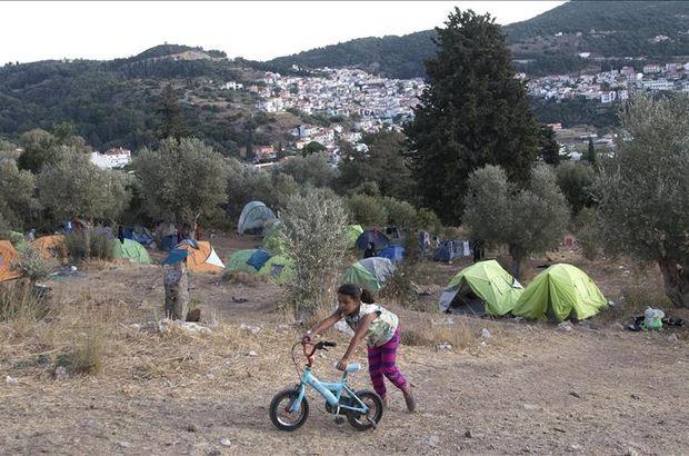 Yunanistan mültecileri ana karaya taşıyacak