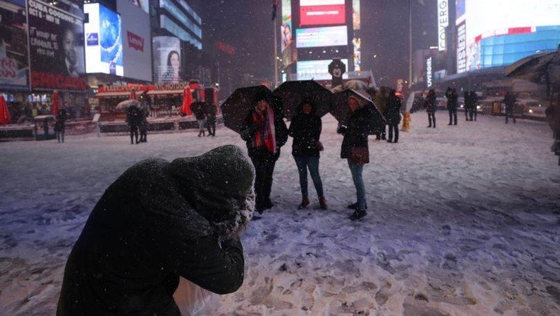 ABD kar fırtınası