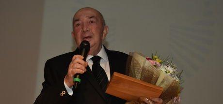 Türker İnanoğlu'na sinemaya katkı ödülü verildi