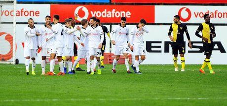 Beşiktaş, İstanbulspor'u mağlup etti