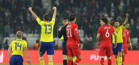 Milliler, İsveç mağlubiyetiyle C Ligi'ne düştü