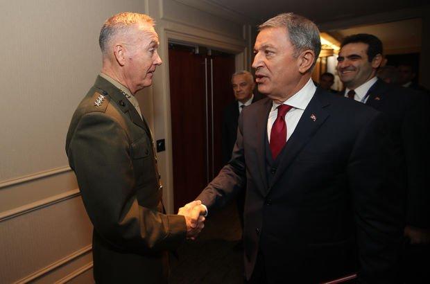 Bakan Akar'dan ABD'li generale 'fotoğraf' uyarısı!