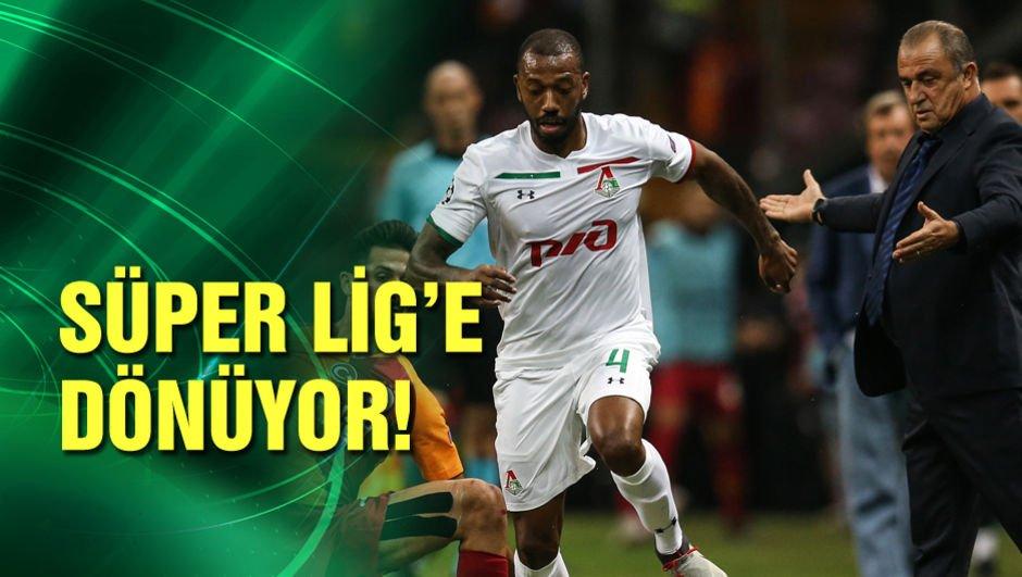Süper Lig'e dönüyor!