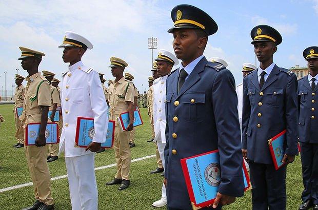 Somali Türk Görev Kuvveti Komutanlığı mezun verdi