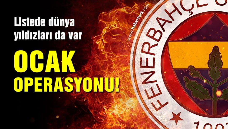 Fenerbahçe'de Ocak operasyonu