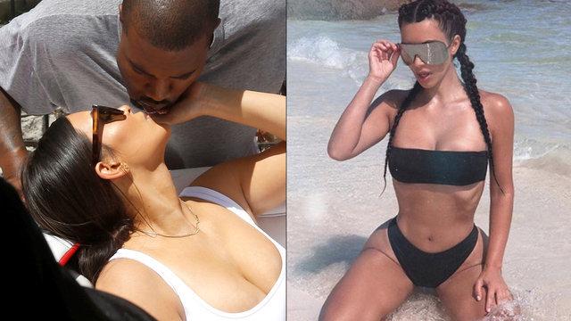 Kim Kardashian: Bu pozlarım kocamı üzdü - Magazin haberleri