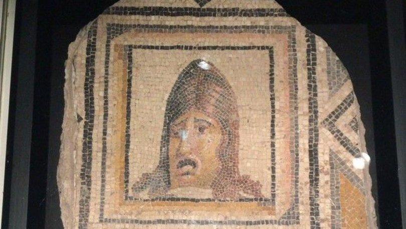 Çingene Kızı Mozaiği'nin ABD'deki eksik parçaları yola çıkıyor