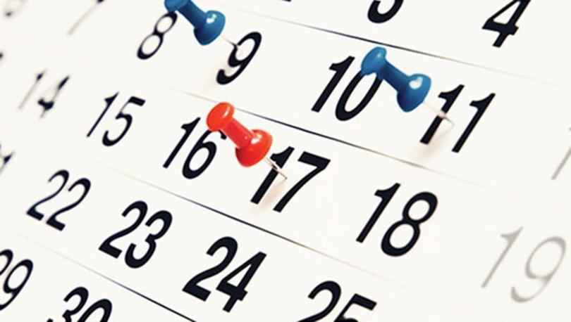 Resmi Tatil Günleri 2019 Yeni Yılda Resmi Tatiller Kaç Gün 2019