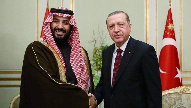Çinde Erdoğan-Prens Selman görüşmesi