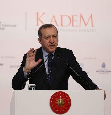 Son dakika... Cumhurbaşkanı Recep Tayyip Erdoğan, 3. Uluslararası Kadın ve Adalet Zirvesi
