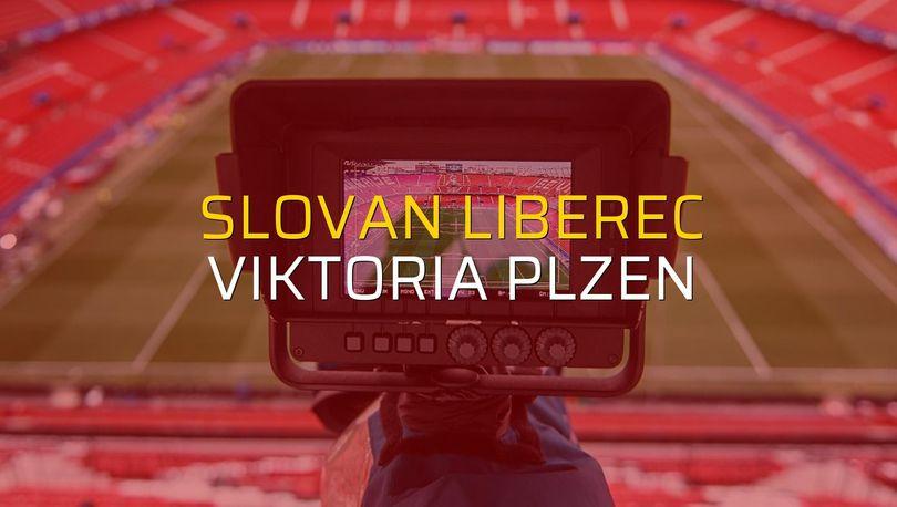 Slovan Liberec: 1 - Viktoria Plzen: 1 (Maç sona erdi)