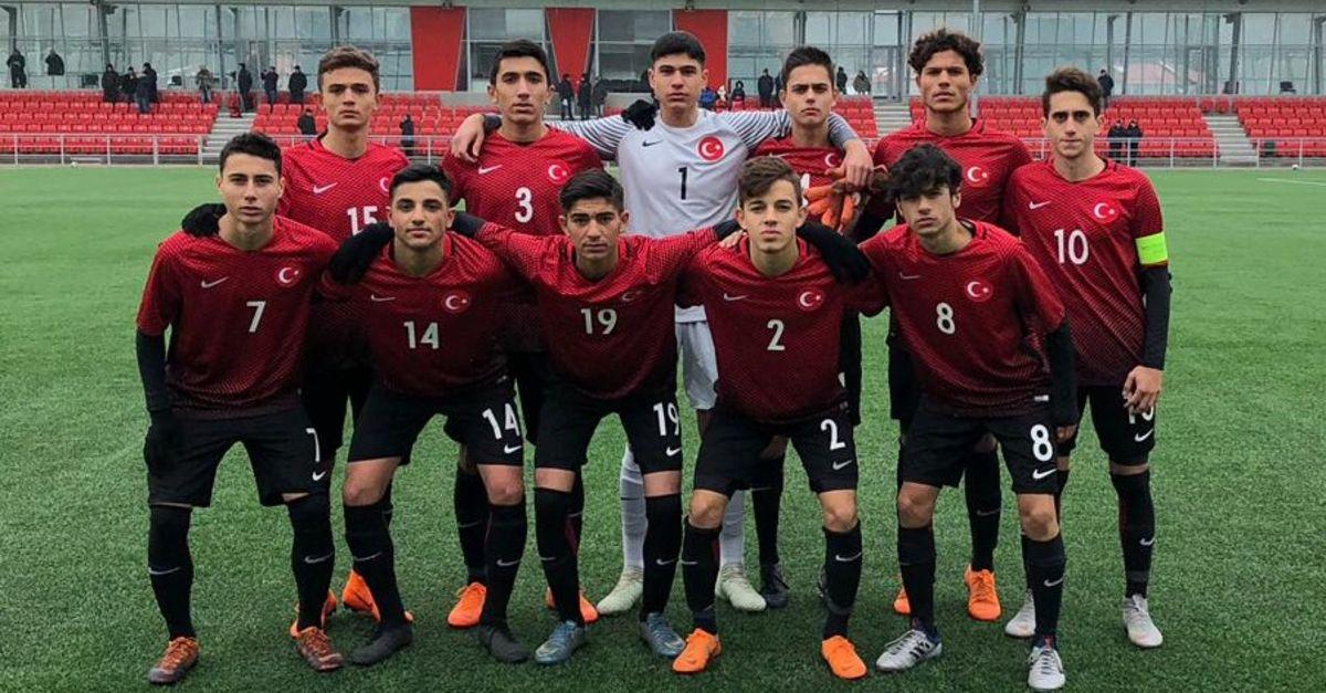 16 Yaş Altı Milli Futbol Takımı, Moldovayı 1-0 yendi 36