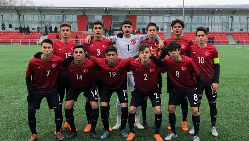 16 Yaş Altı Milli Futbol Takımı, Moldovayı 1-0 yendi 5