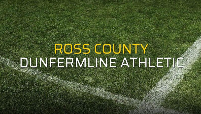 Ross County - Dunfermline Athletic maç önü