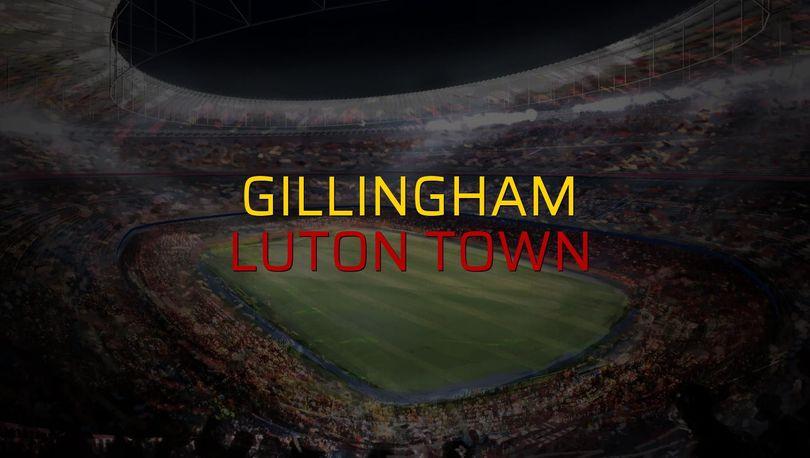 Gillingham - Luton Town karşılaşma önü