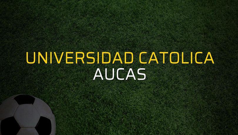 Universidad Catolica: 0 - Aucas: 2