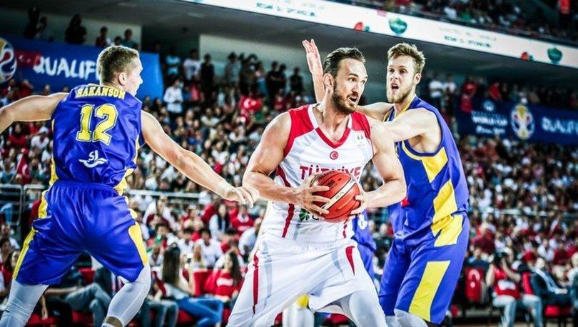 Semih Erden FIBA Dünya Kupası Avrupa Elemeleri