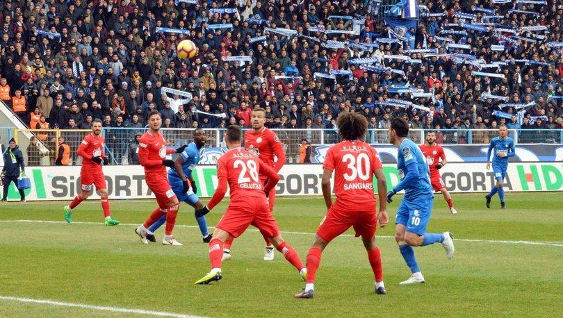 Büyükşehir Belediye Erzurumspor Antalyaspor