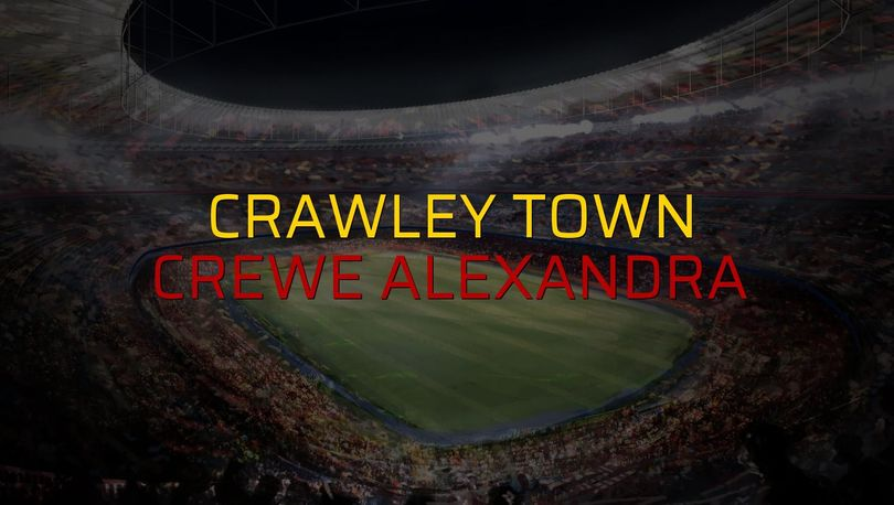 Crawley Town: 1 - Crewe Alexandra: 0