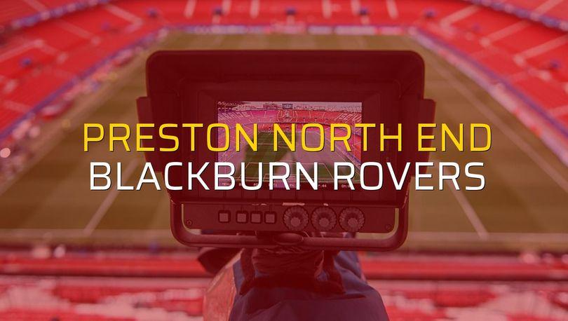 Preston North End: 2 - Blackburn Rovers: 1