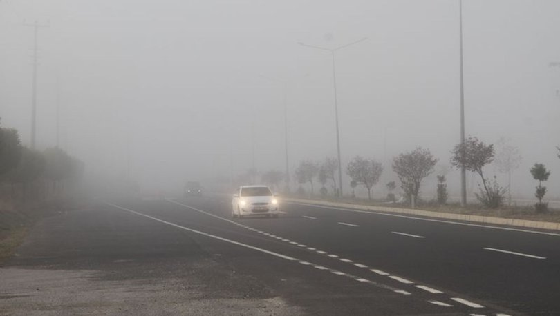 Doğu ve Güneydoğu'daki 5 kent için sis uyarısında bulunuldu!