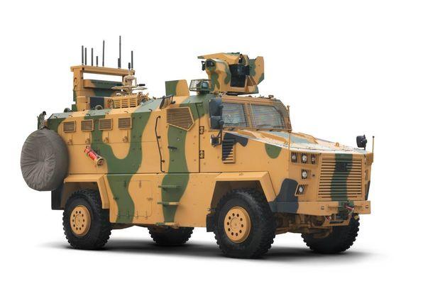 zırhlı kara aracı
