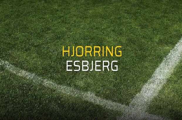 Hjorring: 1 - Esbjerg: 1 (Maç sonucu)