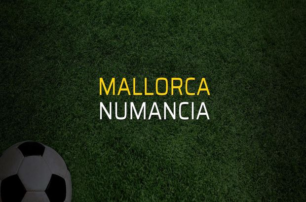 Maç sona erdi: Mallorca: 1 - Numancia:0