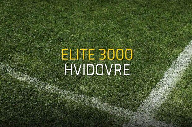 Elite 3000: 1 - Hvidovre: 0 (Maç sonucu)
