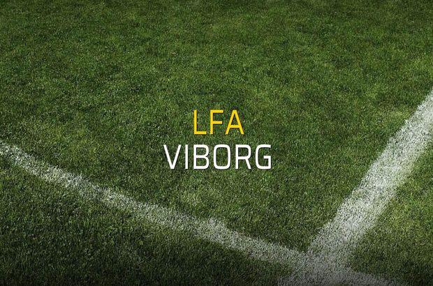 Maç sona erdi: LFA: 3 - Viborg:0
